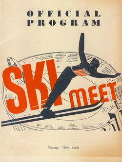 Coliseum Ski Meet 1938